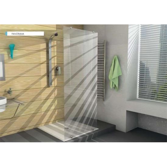 Box doccia ferbox con porta battente san marco - Doccia senza porta ...
