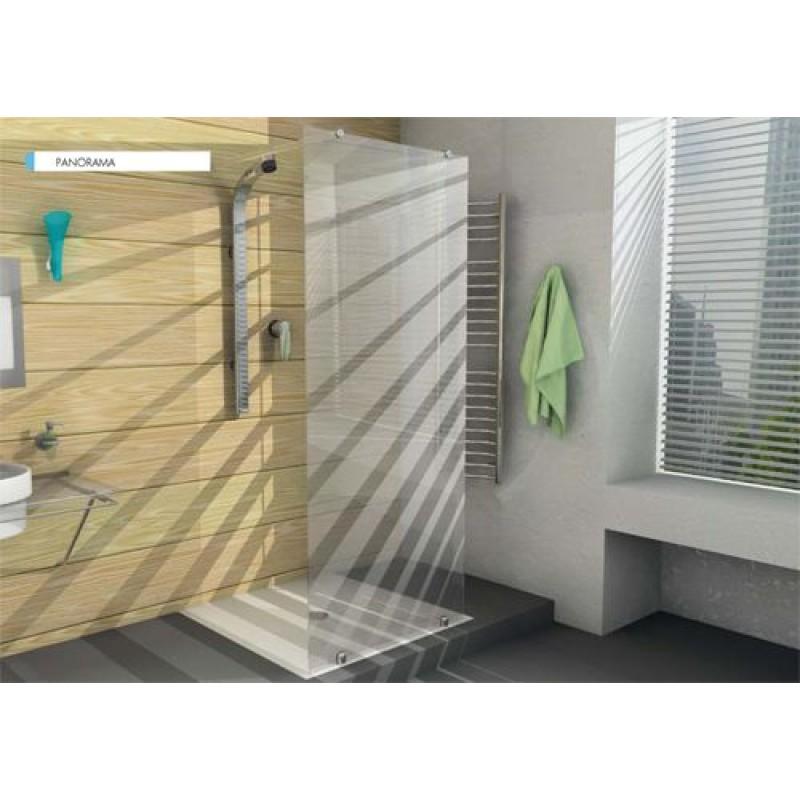 Box doccia ferbox varie misure senza alluminio san marco - Box doccia senza telaio ...