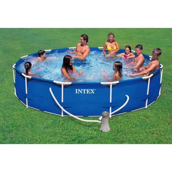 piscina intex 28316 frame 400x200 cm san marco. Black Bedroom Furniture Sets. Home Design Ideas