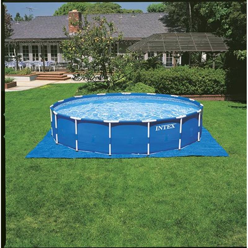 piscina fuori terra intex metal frame 457x122 cm san marco. Black Bedroom Furniture Sets. Home Design Ideas