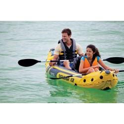 Canoa gonfiabile Explorer K2 con remi Intex