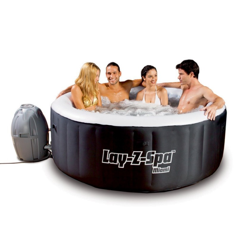 Piscina idromassaggio bestway lay z spa miami san marco - Lay z spa miami ...