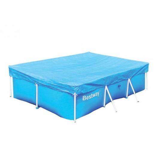 Telo di copertura per piscine intex 400x200cm san marco - Copertura invernale piscina intex ...
