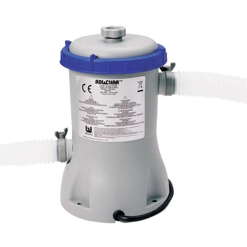 Pompa per piscina bestway filtro a cartuccia san marco for Pompa x laghetto con filtro