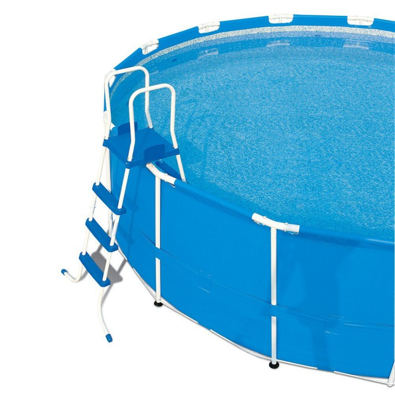 Scaletta per piscine fuori terra bestway 132 cm san marco for Piscine fuori terra best way