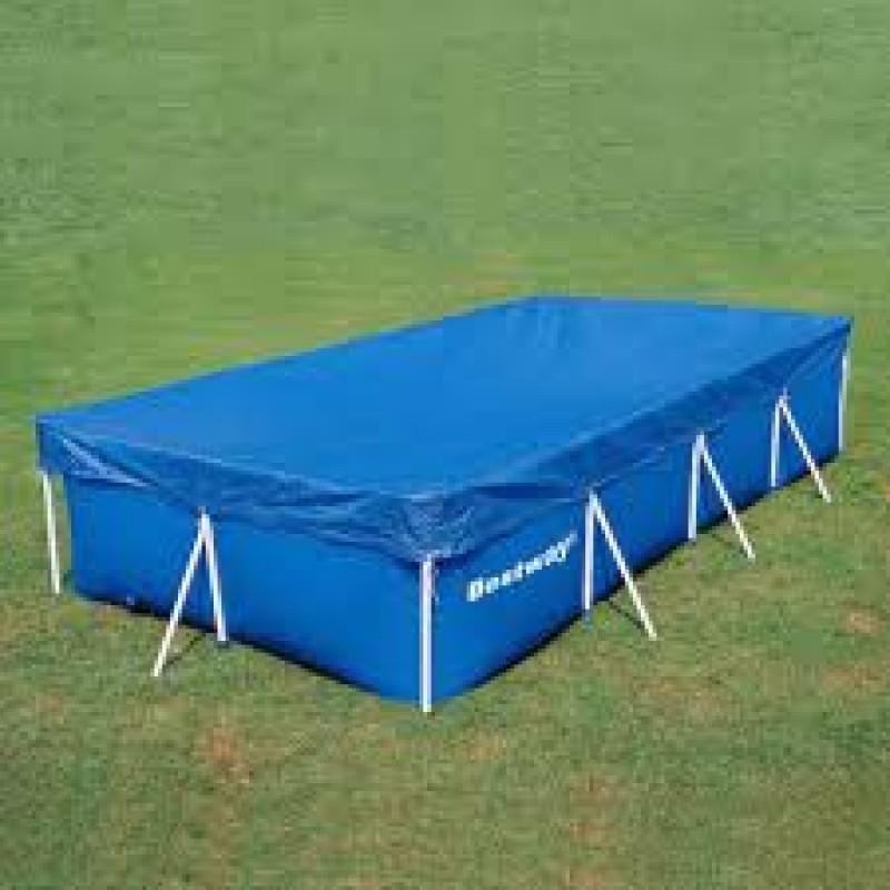 Telo di copertura per piscine frame bestway da 412x201 cm - Misure piscina bestway ...