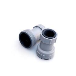 2 adattatori riduttori per tubi da 32
