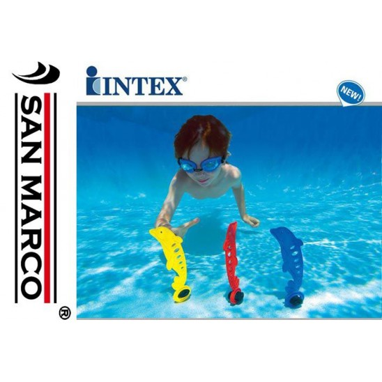 Gioco da piscina per bambini Delfini in immersione