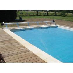Rullo avvolgitore per piscine interrate  Gre fino ad una larghezza di 5,5 mt.