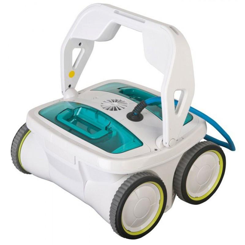Robot piscine gre 4x4 track salt con clorinatore san marco for Piscine 4x4