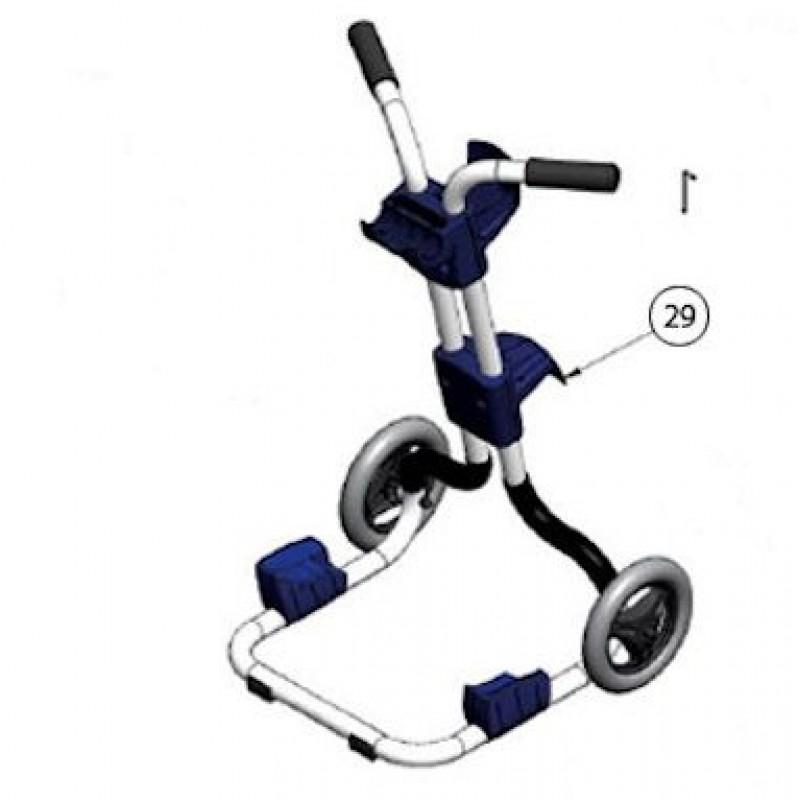 carrello per robot zodiac vortex 3 e vortex 4 san marco. Black Bedroom Furniture Sets. Home Design Ideas