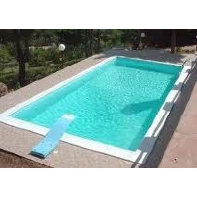 Piscina zodiac 4x8 mt e altezza da 120 220 cm san marco for Zodiac piscinas