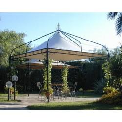Gazebi da giardino e da esterno in vendita online san for Arredo ville e giardini