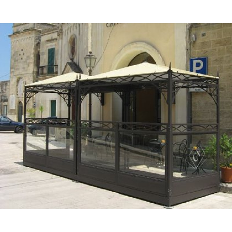 Gazebo per arredamento da esterno decor system san marco for Arredamento da esterno per bar