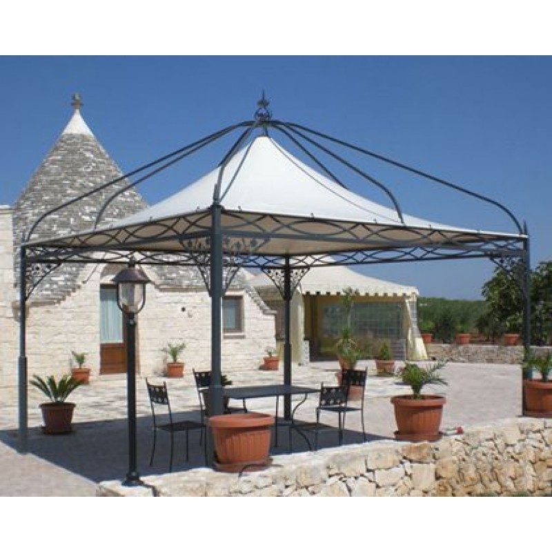 Gazebo per arredo giardini e ville decor system san marco for Arredo ville e giardini