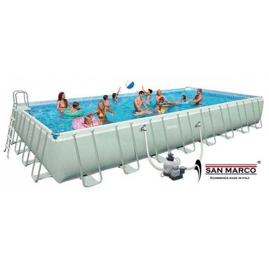 Piscina fuori terra bestway frame 671x366x132 cm san marco for Piscine fuori terra best way