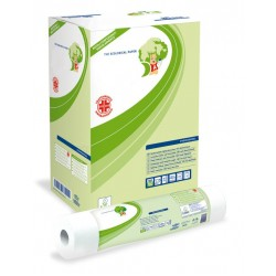 12 rotoli copri lettino massaggio Antibatterici Eco Lucart