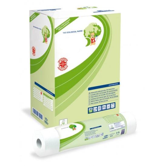 18 rotoli copri lettino massaggio Antibatterici alta densità