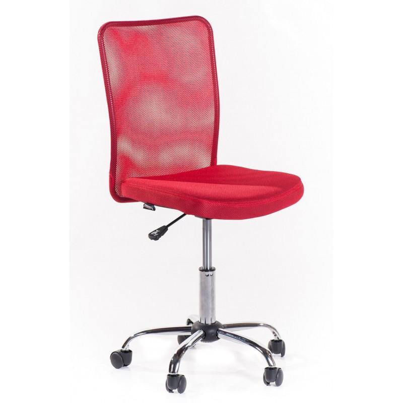 Sedia ufficio girevole roger rossa san marco - Sedia con rotelle per ufficio ...