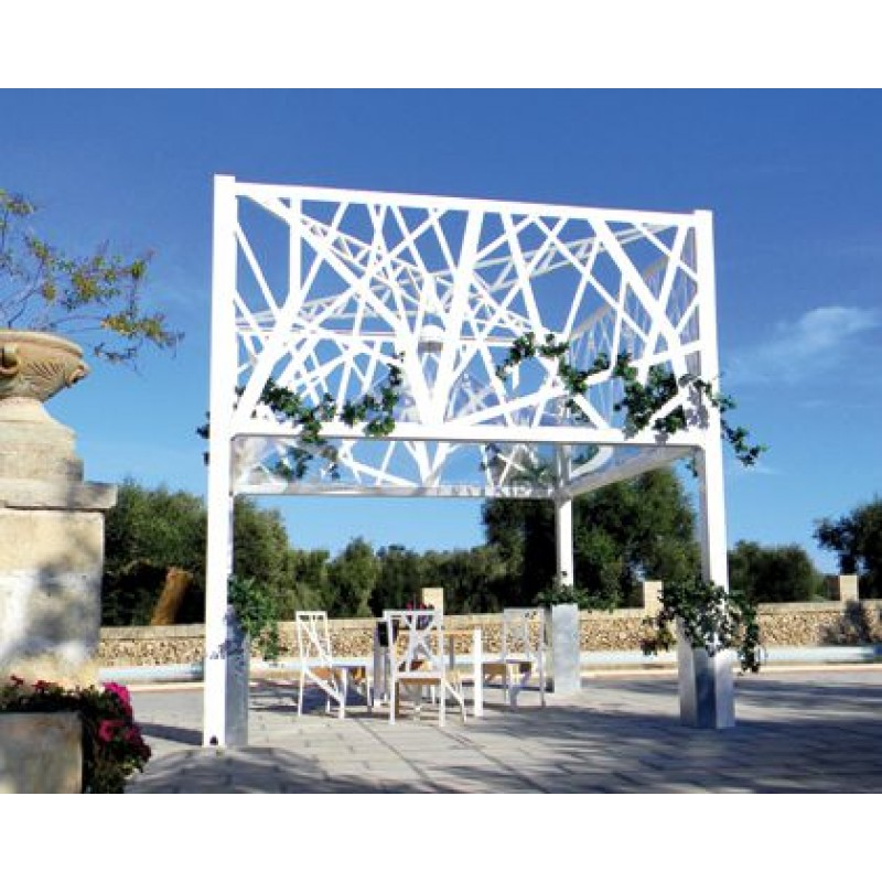 Gazebo design per arredo giardino dehors tree san marco for Gazebo arredo giardino