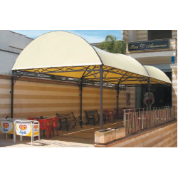 Gazebo per arredo bar Dehors Decor System Tunnel