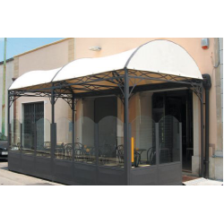 Gazebo per esterni Dehors Decor System Tunnel