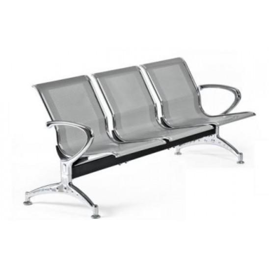 Sedie Per Sala Dattesa Studio Medico.Sedie Per Sala Di Attesa In Metallo A 3 Posti San Marco