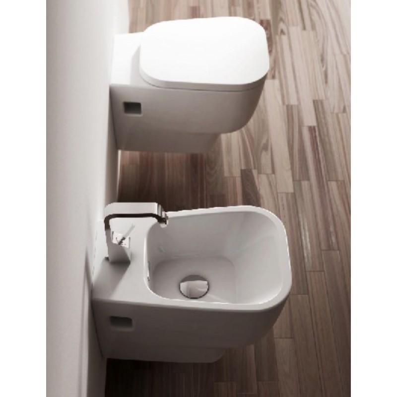 Sanitari bagno sospesi falerii ceramica serie morpho san for Sanitari bagno
