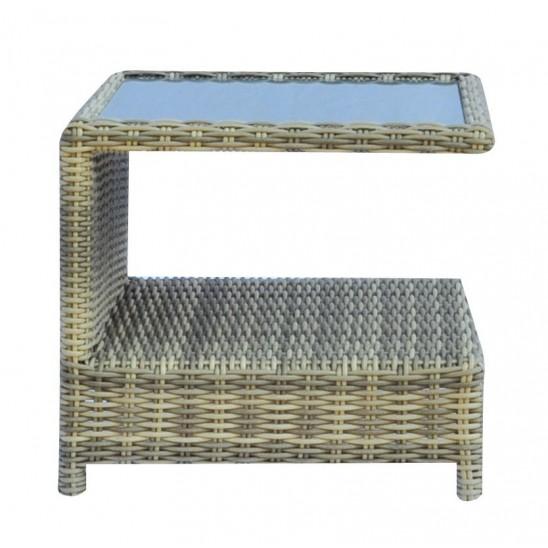 Tavolino Giardino Wicker Shanghai : Tavolino giardino in rattan sintetico trinidad san marco