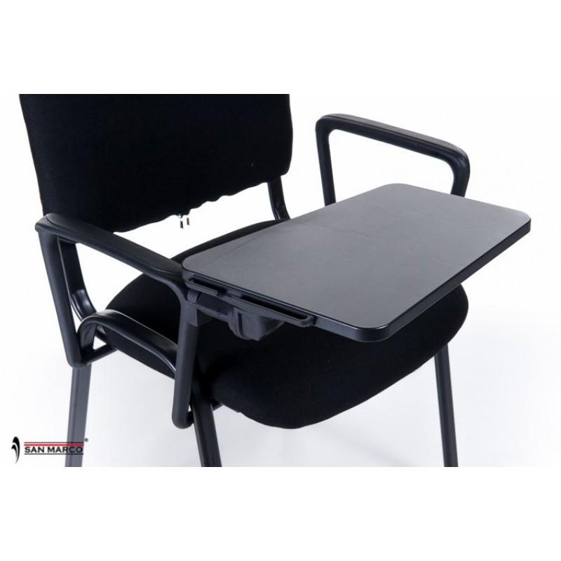 Sedie ufficio con scrittoio ribaltabile black chair san - Sedie ufficio economiche ...