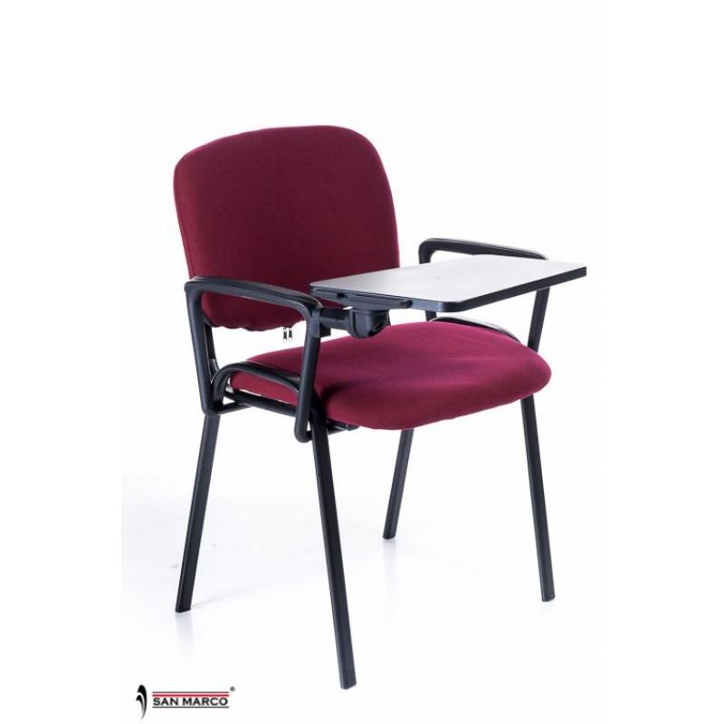 Sedie con scrittoio ribaltabile red chair san marco for Scrittoio per ufficio
