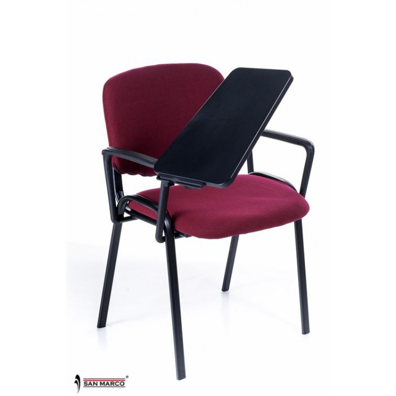 Sedie con scrittoio ribaltabile red chair san marco for Sedie design rosse