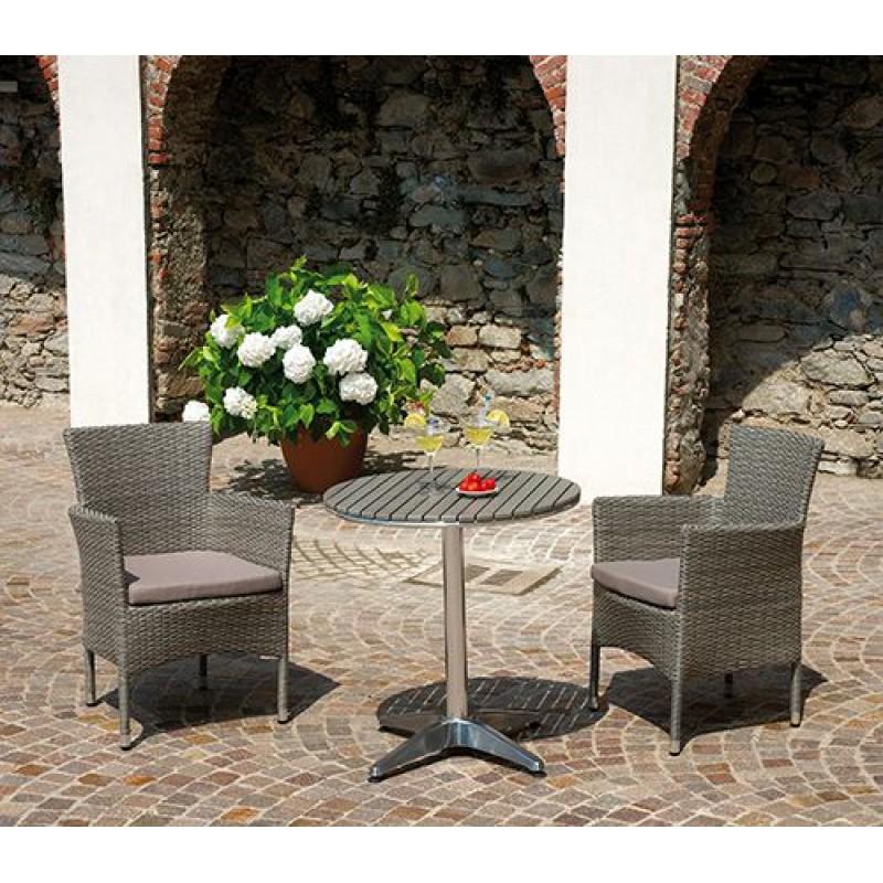 Sedia poltrona da giardino tindari san marco for Poltrona giardino