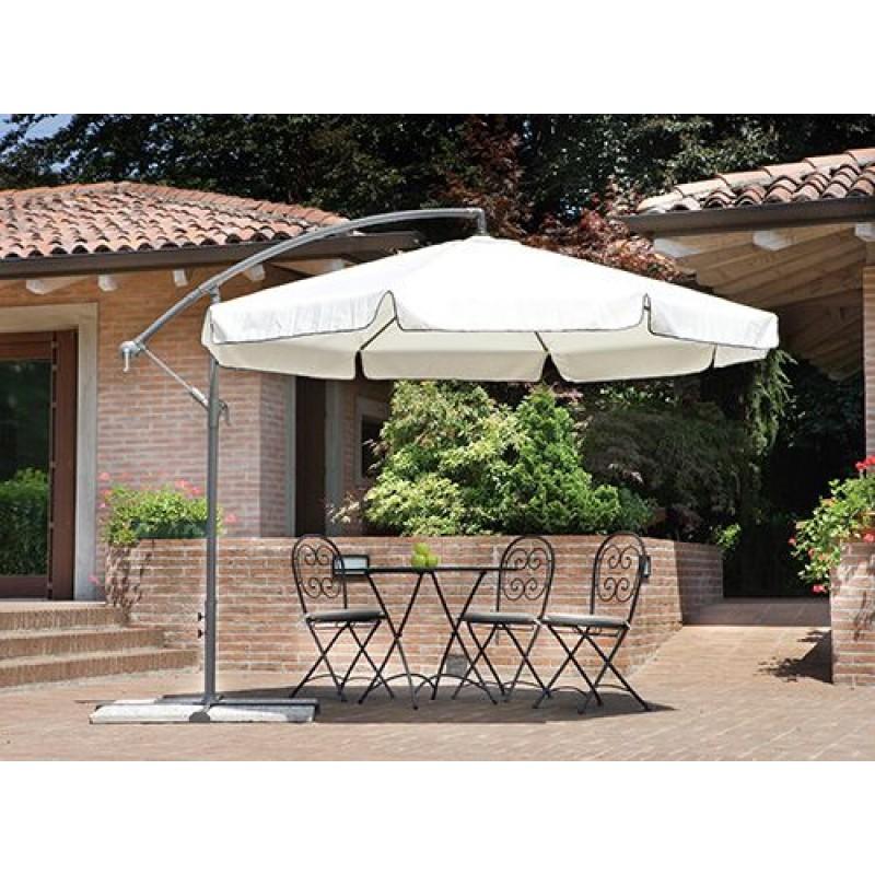 Ombrellone giardino 3 mt braccio in alluminio san marco - Ombrelloni da giardino brico ...