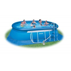 Piscine fuori terra intex gre bestway zodiac san marco for Piscina intex 975x488x132