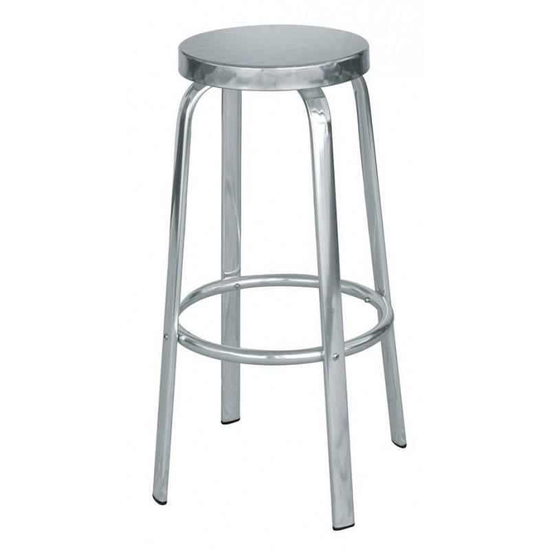 Sgabelli In Alluminio Per Bar.Sgabello Bar In Alluminio E Acciaio