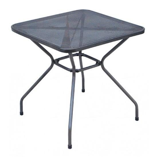 Tavolo bar quadrato pieghevole in ferro san marco for Ferro tubolare quadrato prezzo