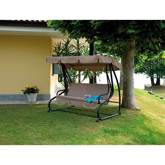 Telo per ombrellone da giardino in legno 3x4 mt san marco for Telo copri dondolo 3 posti