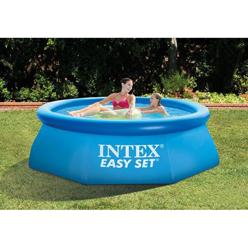 Piscina gonfiabile intex per bambini 244 cm san marco for Piscine gonflable 2m