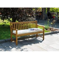 Panchina da giardino in legno d'acacia Siviglia - 3 posti, 153 cm