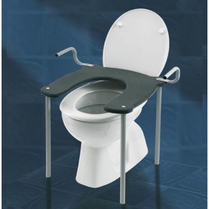 Seduta rialzo per wc o bidet con manici san marco - Rialzo per bagno ...