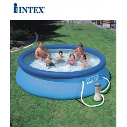 Piscina fuori terra Intex Easy set rotonda 366x76 cm