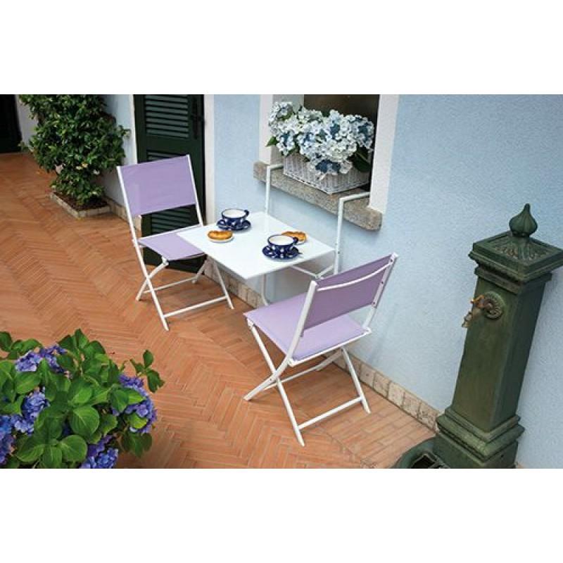 tavolo pieghevole da ringhiera ferro 60x56 cm | san marco - Tavolo Da Giardino Pieghevole In Ferro