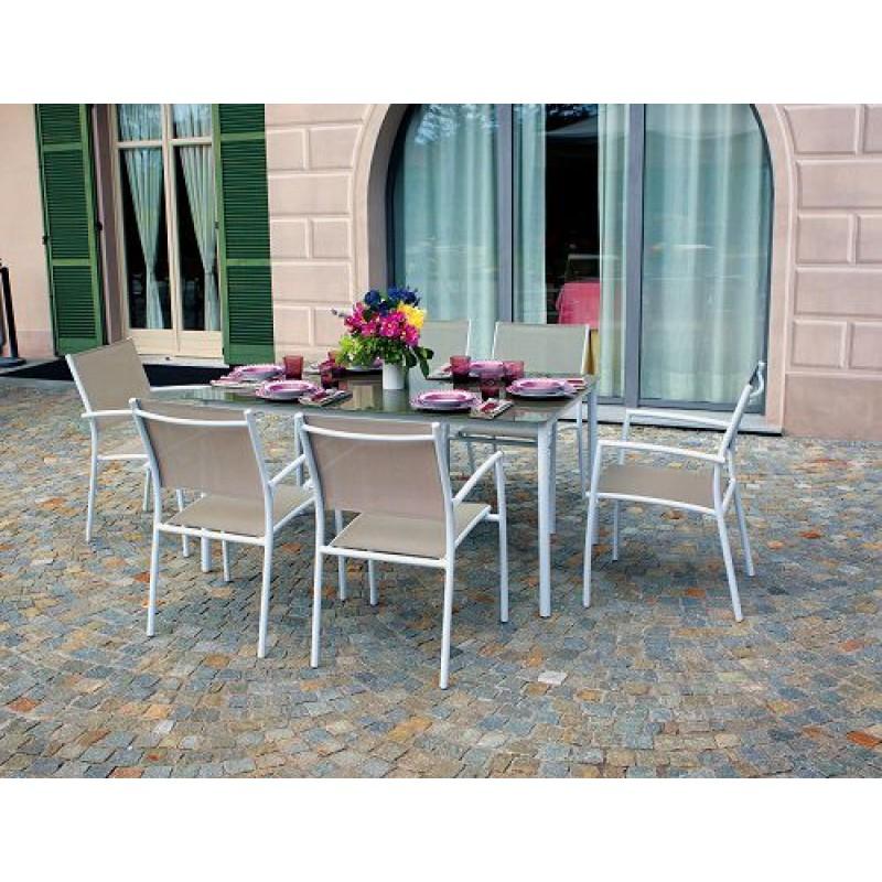 Tavolo Per Esterno Alluminio.Tavolo Da Giardino Alluminio Talamone 150x90 Cm San Marco