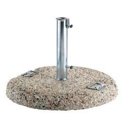 Base per ombrelloni da giardino con maniglie, 50 kg