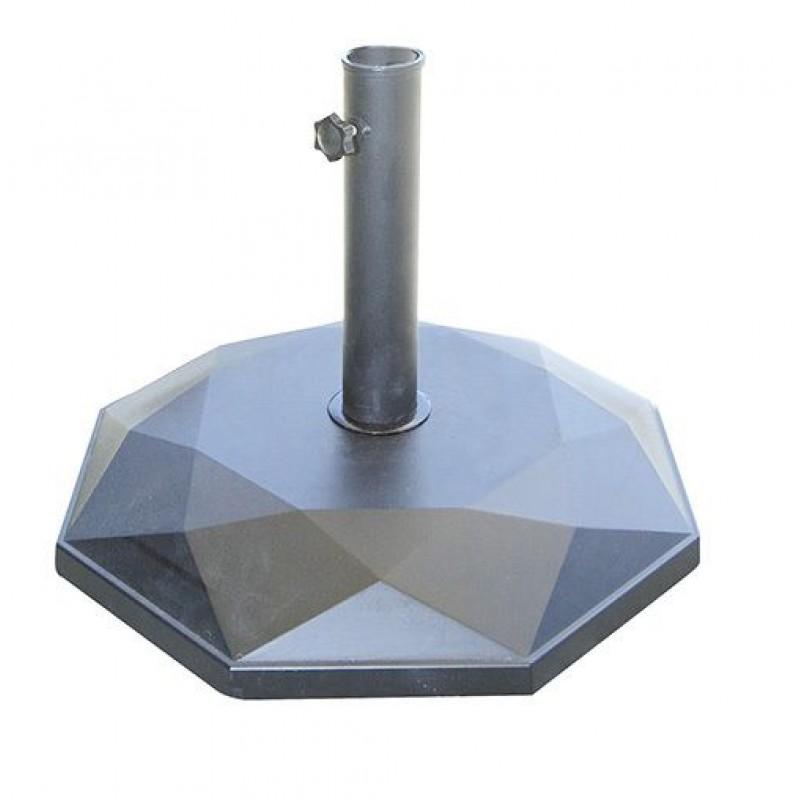 Base per ombrelloni da giardino diamante 25 kg san marco - Ombrelloni da giardino brico ...