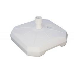 Base  per ombrelloni da giardino in plastica con ruote, 50 l