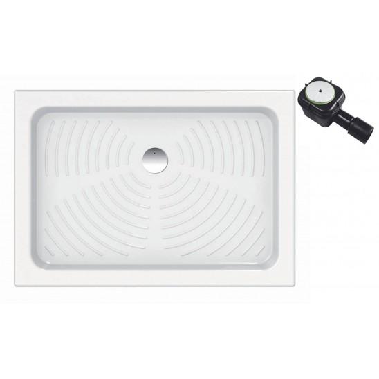 Piatto doccia in ceramica per cabina doccia 80x120 cm