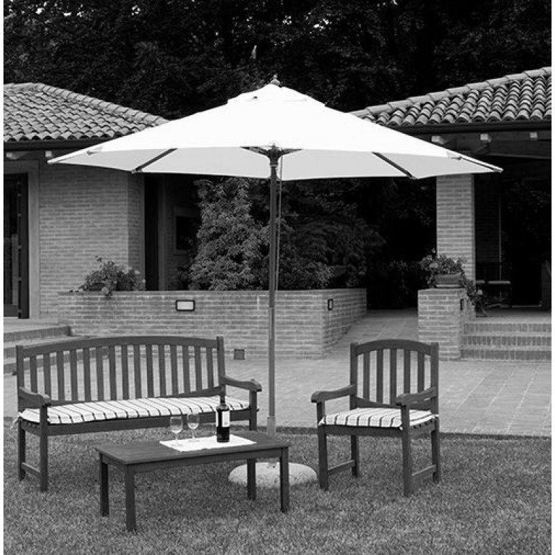 Telo per ombrellone da giardino quadrato 3 mt san marco for Telo ombreggiante leroy merlin