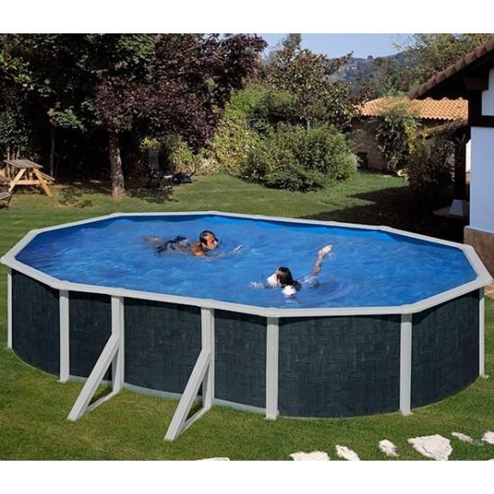 Telo copertura invernale piscine ovali 610x375 san marco for Copertura invernale piscina gre